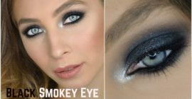 Trucco Smokey Eyes Nero - Makeup Tutorial