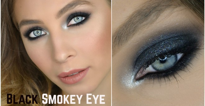 Trucco Smokey Eyes Nero – Makeup Tutorial