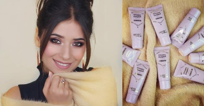 Fondotinta liquido Creamy Comfort di Neve Cosmetics