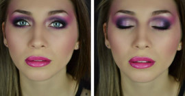 Magenta Color Explosion – Time Lapse Video