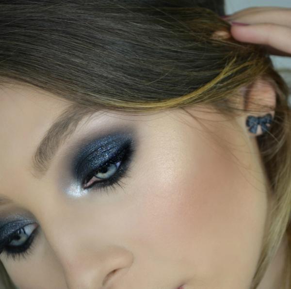 Conosciuto Trucco Smokey Eyes Nero - Makeup Tutorial | Alyna Makeup MY47