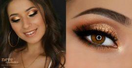 Gold Summer Makeup 